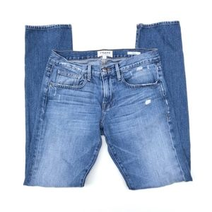 Frame L'homme Straight Leg Jeans Bryce Canyon 30